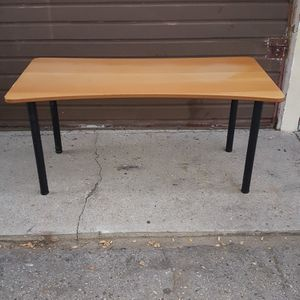 Professional Computer / Work Desk Or Table / Heavy Duty With Steel Legs / Good Condition! for Sale in Los Angeles, CA