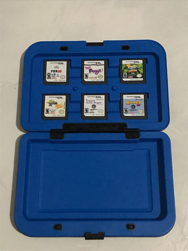 Nintendo 3DS game case (games included)