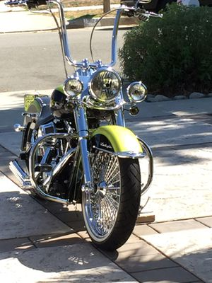 ⚡️READY To RIDE CUSTOM BIKE! ⚡️EXCELLENT CONDITION ⚡️2011 Harley Davidson Softail!!CUSTOM Deluxe Motorcycle!!! ⚡️ONLY asking $15,000 worth a-lot for Sale in Redlands, CA