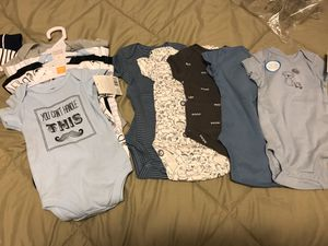 NewCarters 3 M baby onesie/Hudson Baby 3-6 Months for Sale in Woodinville, WA