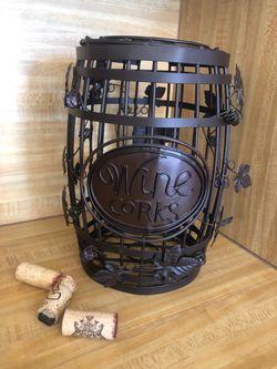 Decor - Metal Wine Cork Holder for Sale in Colleyville,  TX