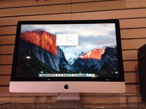 """Apple iMac 27"""" 5K, 8gb, 1 Tb, i5 desktop computer w/Mouse & Keyboard for Sale in Liberty Hill, TX"""