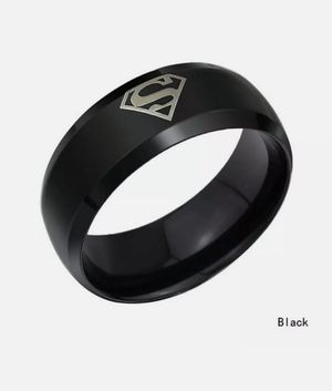 NWT Stainless Steel Superman Ring Size 10 for Sale in Wichita, KS