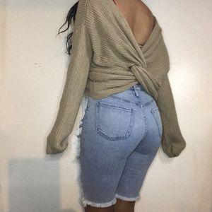 Twisted Sweater 🐻🎀💫💕 Tops//Heels//Sweaters for Sale in Phoenix, AZ