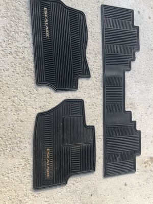 Heavy duty Factory floor mats for Escalade for Sale in Sunbury, OH