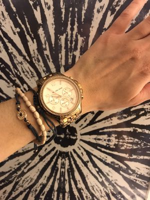 Michael Kors rose gold watch for Sale in San Diego, CA