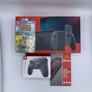 Nintendo Switch With Animal Crossing BUNDLE for Sale in Clovis, CA
