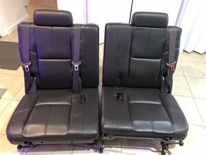 3rd row seats Fit 2007 - 2014 Chevy, Tahoe, Suburban, Escalade for Sale in Camp Springs, MD