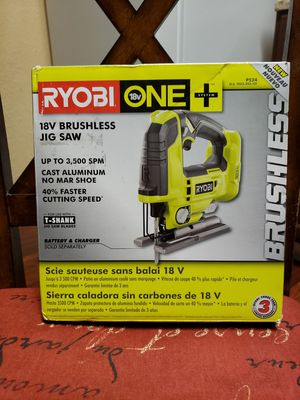 RYOBI P524 18V ONE+ CORDLESS BRUSHLESS JIG SAW (TOOL ONLY) for Sale in Orlando, FL