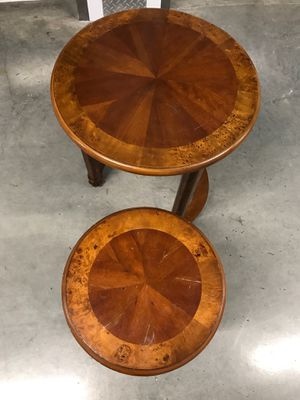Antique circular wooden tables. for Sale in Portland, OR