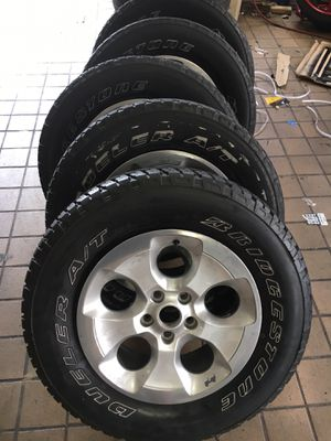 "18"" Jeep wheels and tires for Sale in Laurel, MD"