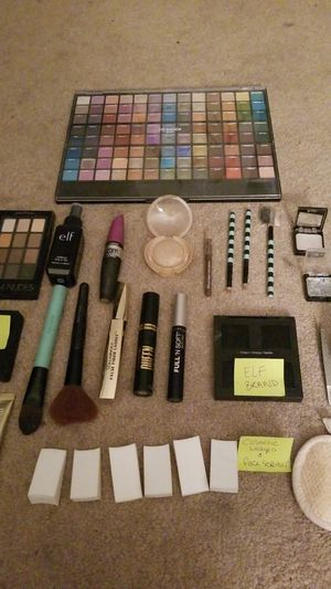 Never used all brand new sorts of make up and make up supplies for Sale in St. Peters, MO