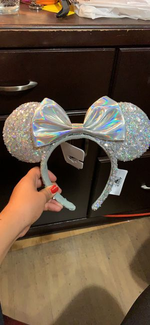 Silver Disney Ears for Sale in Anaheim, CA