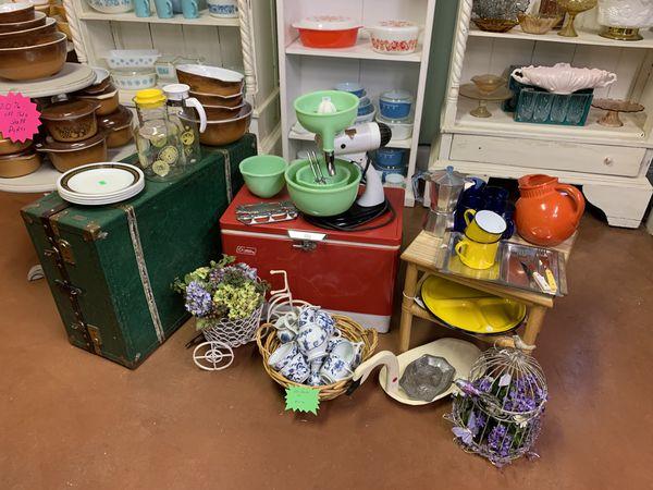 Artful vintage sale