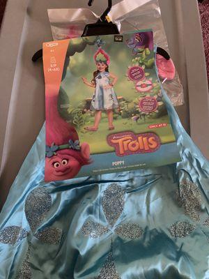 TROLLS POPPY KIDS COSTUME SIZE SMALL 4-6 for Sale in Norwalk, CA