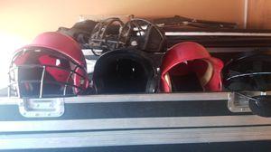 Kids baseball helmet, belts pants cleats gloves for Sale in San Leandro, CA