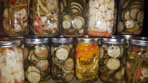 Homemade Pickles and mixed veggies for Sale in Lancaster, PA