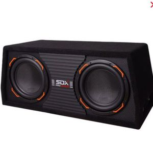 Sdx pro audio dual 10inch with built in 1000 watt amp for Sale in Miami, FL