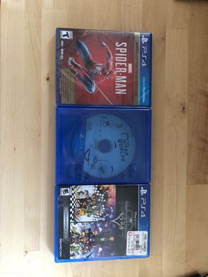 3 PS4 Game Lot for Sale in Indianapolis, IN