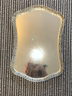 Silver rustic vanity/coffee table tray for Sale in Portland,  OR