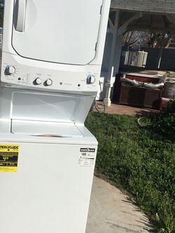 """Stackable 24""""1.5 Cubic Feet Upright Washer And (Gas) Dryer Set Combo Brand New Never Been Used for Sale in Fresno,  CA"""