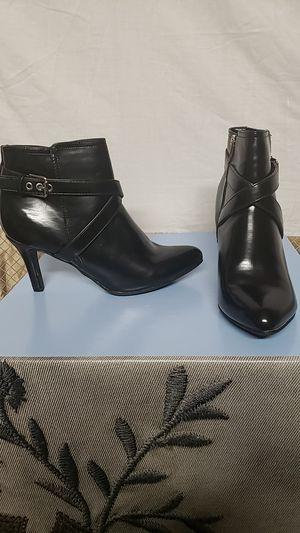 New Ladies Black Booties size 10 for Sale in Alexandria, VA