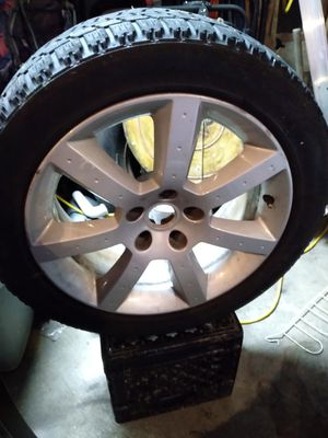 4 rims and tires for Sale in St. Louis, MO