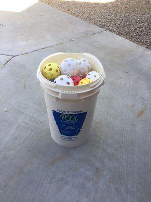 Wiffleball's for batting practice for Sale in Chandler, AZ