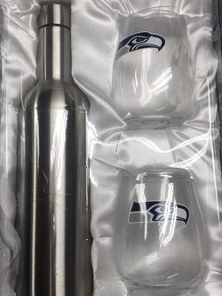 NFL Seattle Seahawks Bottle And Tumbler Set for Sale in Renton,  WA