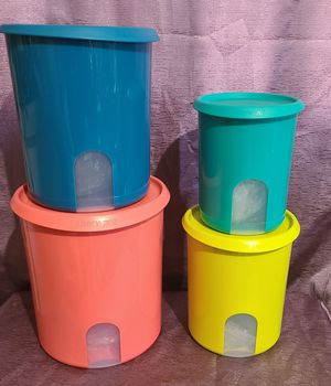 Tupperware - One Touch (4pcs) ** for Sale in Rosemead, CA