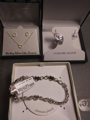 Silver jewelry for Sale in Carlsbad, CA