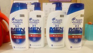 (4) Head and Shoulders for Men, Advanced Series, Old Spice for Sale in Swansea, IL