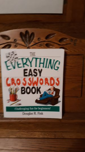 THE EVERYTHING EASY CROSSWORDS BOOK for Sale in Lynchburg, VA