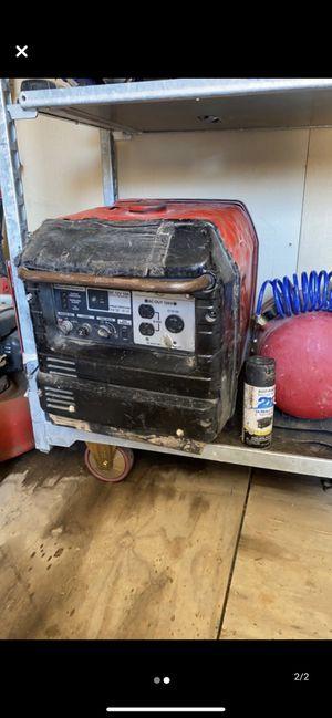 Generador honda trababa bien el motor for Sale in Midland, TX