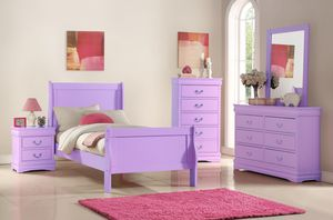 Full Lilac Bedroom Set ~~BRAND NEW~~ for Sale in Silver Spring, MD