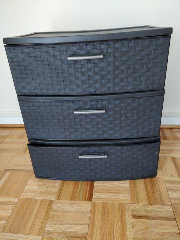 Sterlite drawers