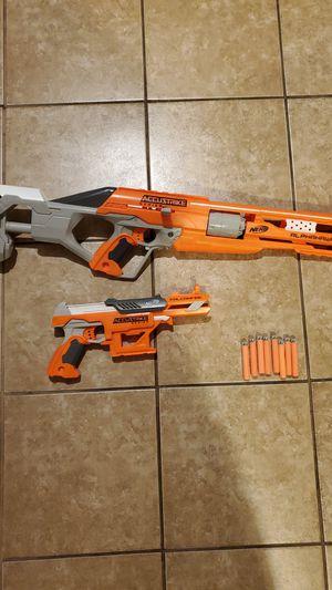 Nerf acustrike guns for Sale in Stockton, CA