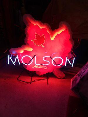 MOLSON. LIGHT for Sale in Lumberton, NJ