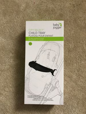 Baby Jogger child Tray - Compatible with City Select Stroller for Sale in Nokesville, VA