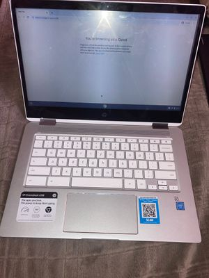 "HP 14"" MultiTouch 2-in-1 Chromebook Tablet touchscreen hp for Sale in Redwood City, CA"