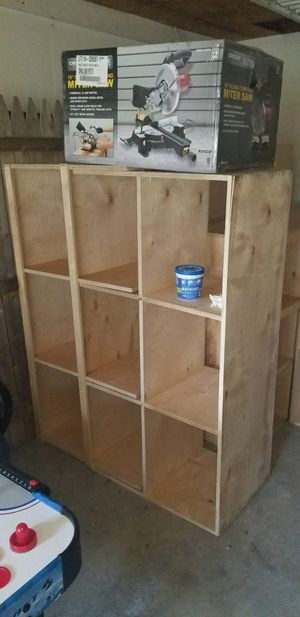 wooden shelves 2 different styles 4 different sizes for Sale in Pittsburgh, PA