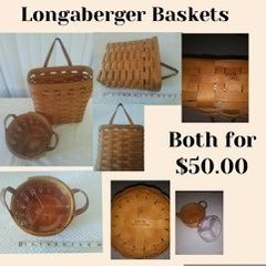 Longaberger Baskets for Sale in Tigard, OR