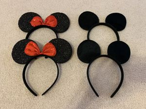 Minnie and Micky mouse ears headbands- $1.5 each for Sale in Las Vegas, NV