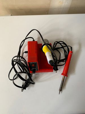 Soldering Iron Station and 2 Heat soider/ Used/ Working for Sale in Tacoma, WA