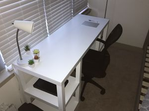 White wooden Desk for Sale in Arlington, VA