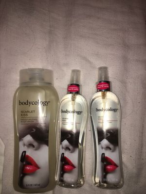 Bodycology Body Wash and two Perfumes for Sale in Kansas City, MO