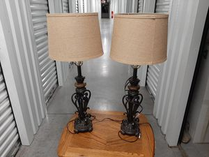 Cast-iron lamps for Sale in Houston, TX
