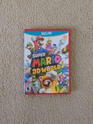 Super Mario 3D World (Nintendo Wii U) for Sale in Mertztown, PA