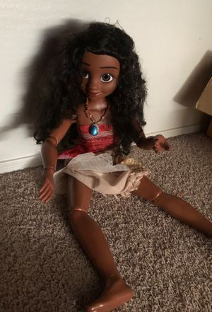 Moana doll for Sale in Laveen Village, AZ