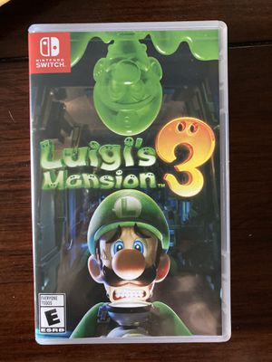 Luigi a mansion 3 switch game for Sale in Irving, TX